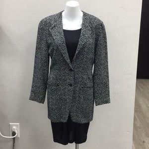 Bagutta Polka Dot Vintage Jacket w/ Pockets Size 4